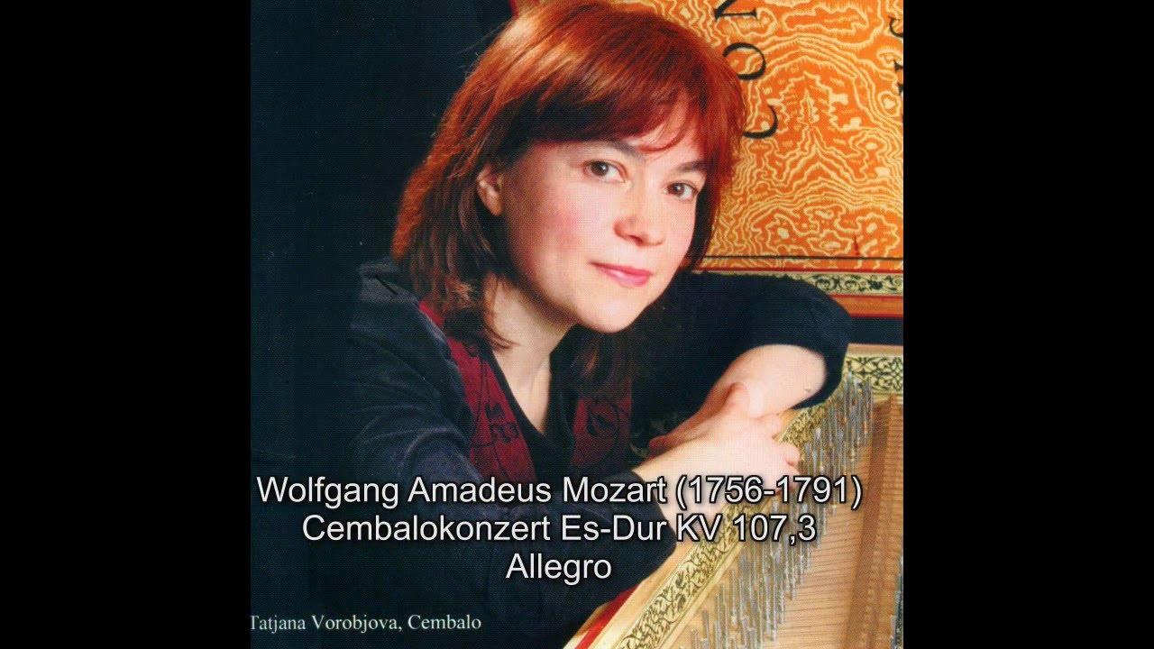 W A Mozart Cembalokonzert Es Dur KV 107 3 Allegro