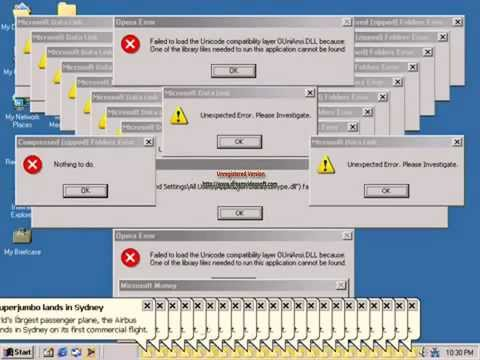Windows ME Crazy Error