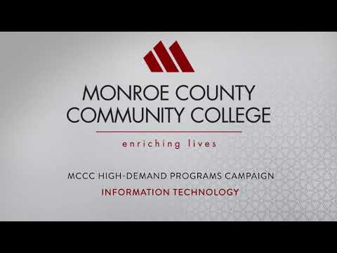 Monroe County Community College Information Technology High-Demand Programs Radio Ad