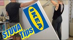 IKEA STUVA Loft Bed Build Tips