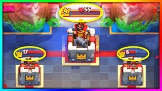 5 CLOSEST Clash Royale Battles YOU Won't Believe Actually Happened!