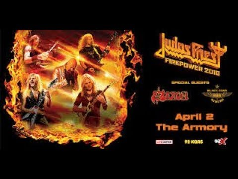 Judas Priest - the armory - Minneapolis mn on 4-2-2018