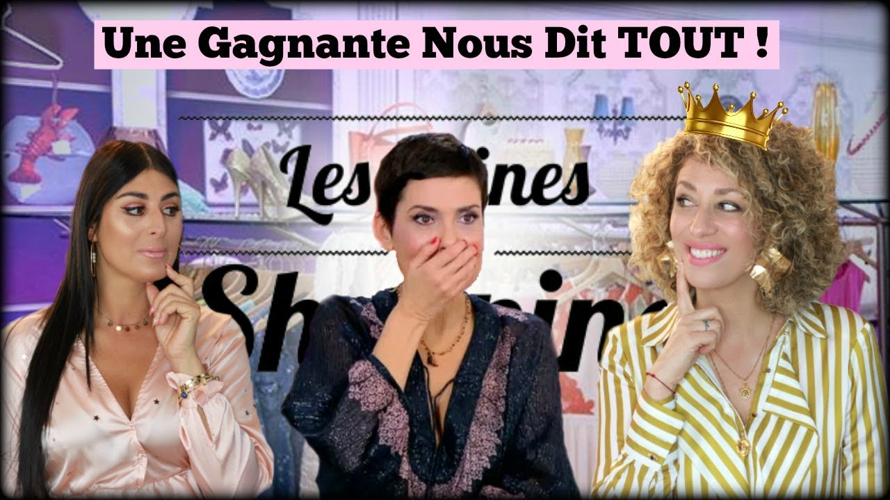 faq reines du shopping une gagnante vous dit tout youtube. Black Bedroom Furniture Sets. Home Design Ideas