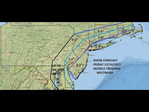 SNOW FRIDAY FOR DELAWARE TO LONG ISLAND 3RD IN A WEEK. LONG RANGE POSSIBILITIES CHRISTMAS