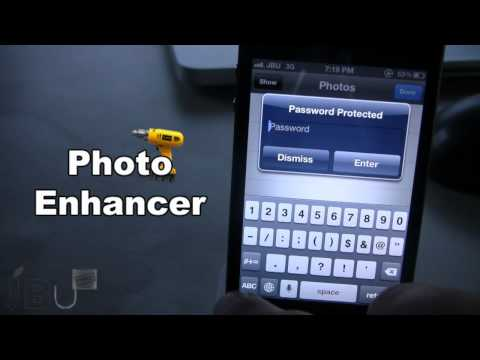 Photo Enhancer - Lock Photo Album on iPhone (Cydia Tweak)