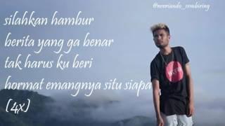 Lirik lagu ecko show ft Rabig Emangnya situ siapa