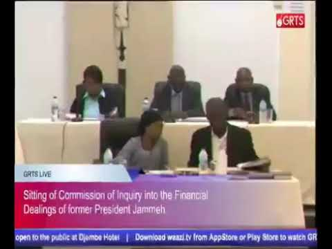 Full Coverage Of The 43rd Sitting Of The Gambia Commission Of Enquiry