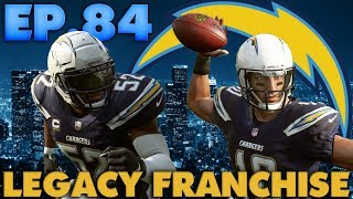Fast Rookie Quarterback Runs In 2 Touchdowns! LA Chargers Online Legacy Franchise Madden 19 Ep.84