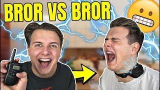 Kysset en ANDEN pige Youtuber? - Bror VS Bror (Stødhalsbånd)