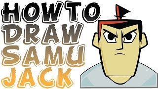 How To Draw Samurai Jack Narrated Easy #How Not To Draw Samurai Jack Character