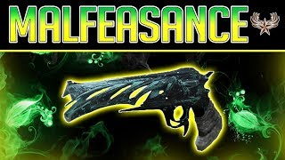Destiny 2 Malfeasance Review (Gambit Exotic)