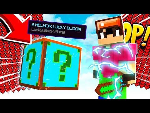 Minecraft: ESSA É A LUCKY BLOCK MAIS OP!