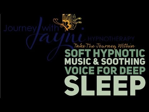 ONE 1 HOUR : Soft Hypnotic Music and Soothing Voice for Deep Sleep