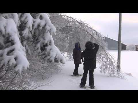 Les Cantons de l'est, l'hiver