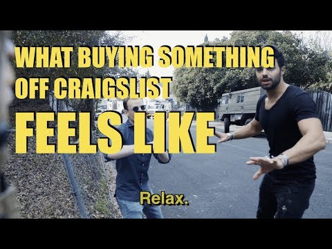 G-Off - LOL: How Buying Things on Craigslist FEELS like...