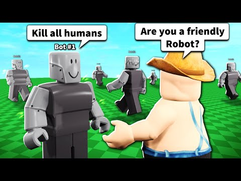 Roblox BOT Actually Has Conversations With You...