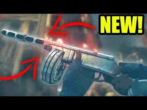 """NEW TREYARCH PPSH EASTER EGG! - SHADOWED THRONE """"CLASSIC"""" PPSH EASTER EGG GUIDE! (WW2 Zombies DLC 2)"""
