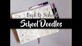 BACK TO SCHOOL 2018 – School Doodles