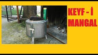 Farklı bir Mangal Yapımı, Çamaşır makinesi tamburundan nasıl mangal yapılır?