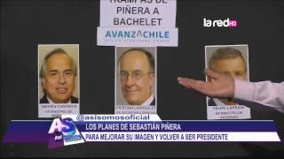 Los planes de Sebastián Piñera para mejorar su imagen y volver a ser Presidente