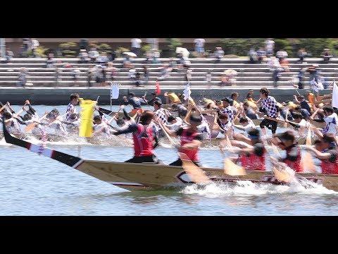 播州に初夏を届けるペーロン祭
