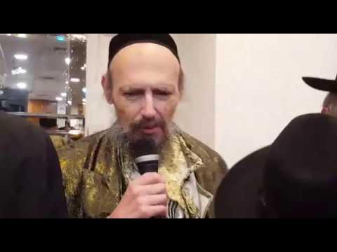 הרב דב קוק בבר מצווה לנכדו מסביר מהי ברכת כהנים אמיתית