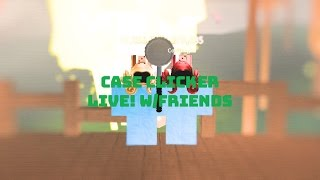 Case Clicker Roblox Live! | W/Friends | OG UniversalSylveon! | SHOUT OUT TO Kazok
