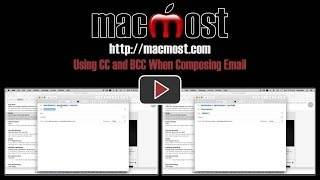 using cc and bcc when composing email 1160