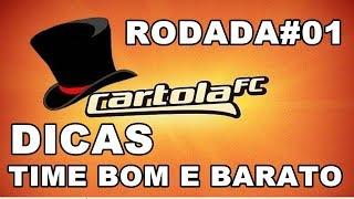 Cartola FC 2018 / Dicas Time Bom E Barato!! Valorização