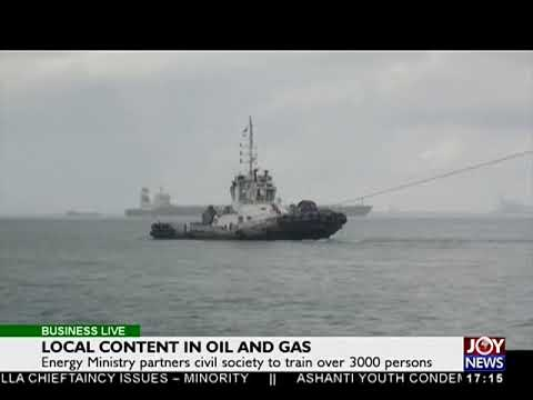 Local content in Oil and Gas - Business Live on JoyNews (13-10-17)