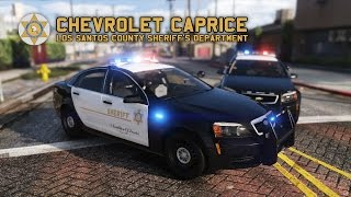 now released chevrolet caprice los santos county sheriffs department els by kane104 gta v