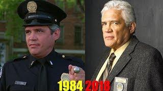 Как изменились актёры фильма Полицейская академия (1984-2018) год.