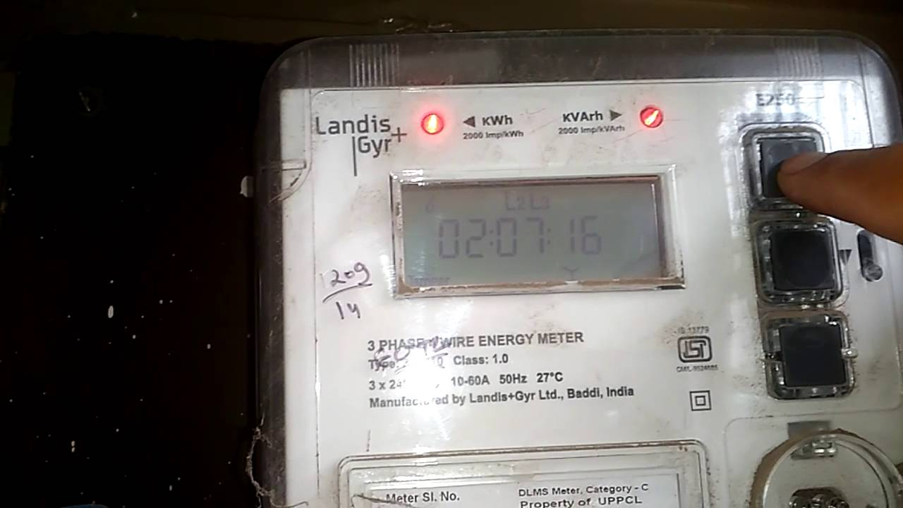 Increasing Electricity Meter : How to take electricity meter reading india youtube