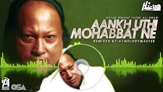 AANKH UTHI MOHABBAT NE || NUSRAT FATEH ALI KHAN & A1MELODYMASTER || BOLLYWOOD SONG || HI-TECH MUSIC