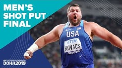 Men's Shot Put Final | World Athletics Championships Doha 2019