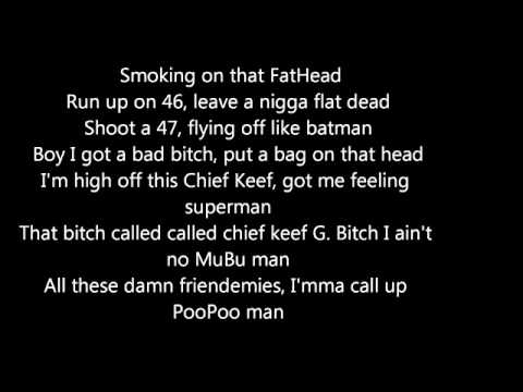 Chief Keef   War   Lyrics On Screen   Prod By Don **2014 JAM**