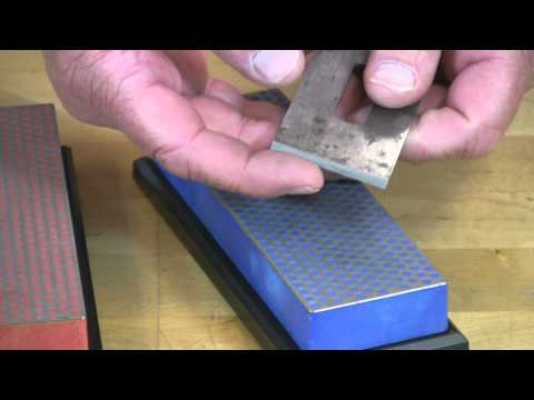 "Video of Maintain Plane Iron edge with DMT's 6"" Diamond Whetstone™ Model"