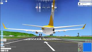 Boeing 737-700 - Roblox - Acceleration Flight Simulator