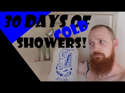 30 Days of Cold Showers - Why I Started Taking Cold Showers