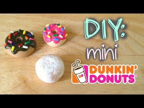 DIY: mini Dunkin' Donuts Lairy Valino