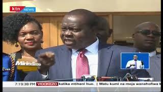 Sonko awasili Kayole kama mpiganaji wa Mau Mau, msamiati wa ajabu wa Matiang'i | Mirindimo