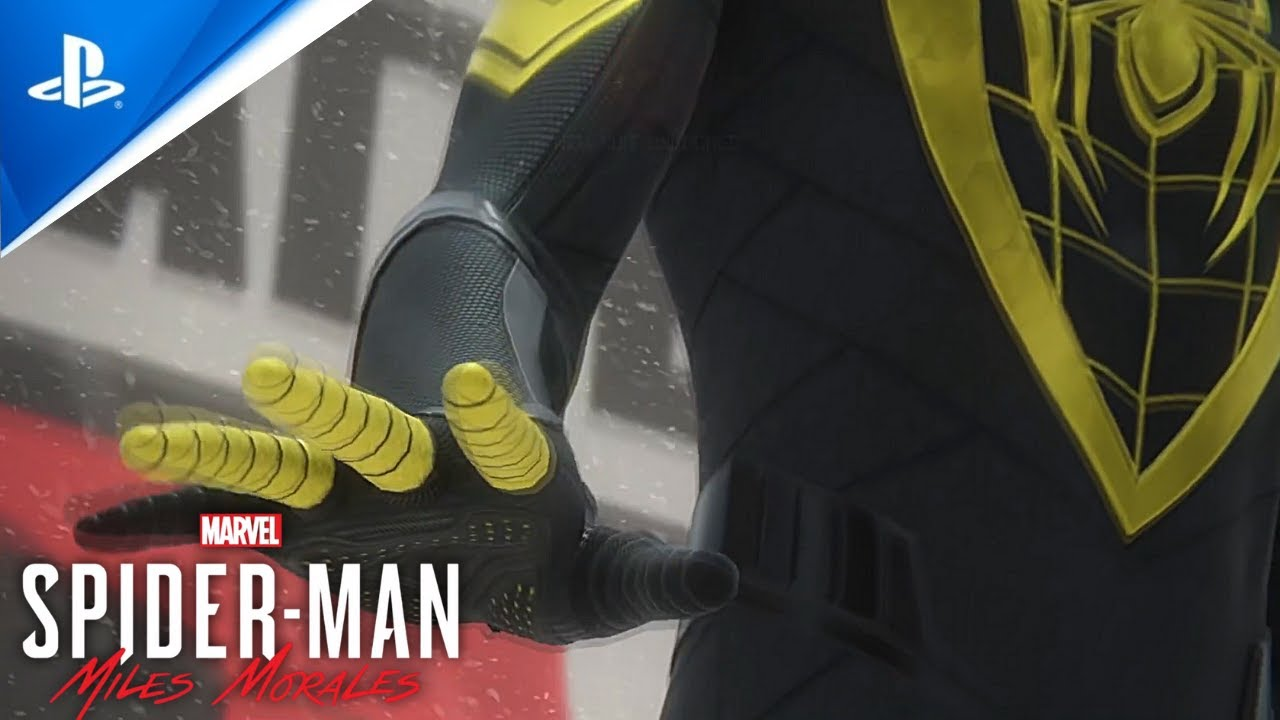 NEW Miles Suits Up in Black And Yellow - SpiderMan Miles Morales