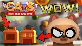 This machine was a Beast! | Battles + 2 Legendary Boxes! | C.A.T.S: Crash Arena Turbo Stars