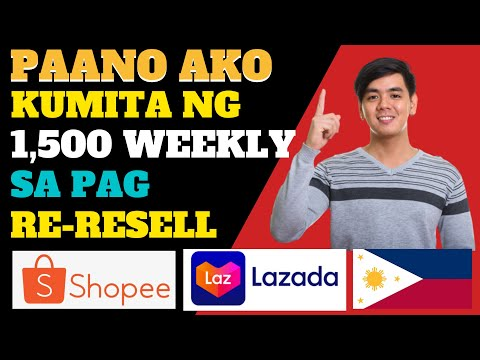 RESELLING ONLINE BUSINES SA SHOPEE AND LAZADA TUTORIAL 2021
