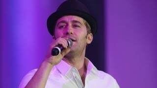 Matthew Morrison performs medley of West Side Story songs