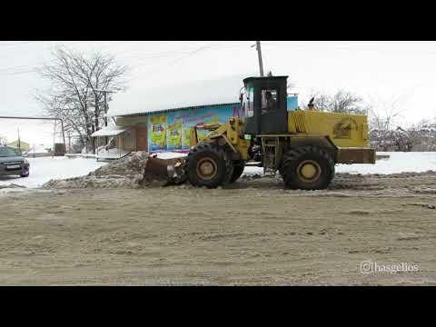 Уборка общественных территории зимой