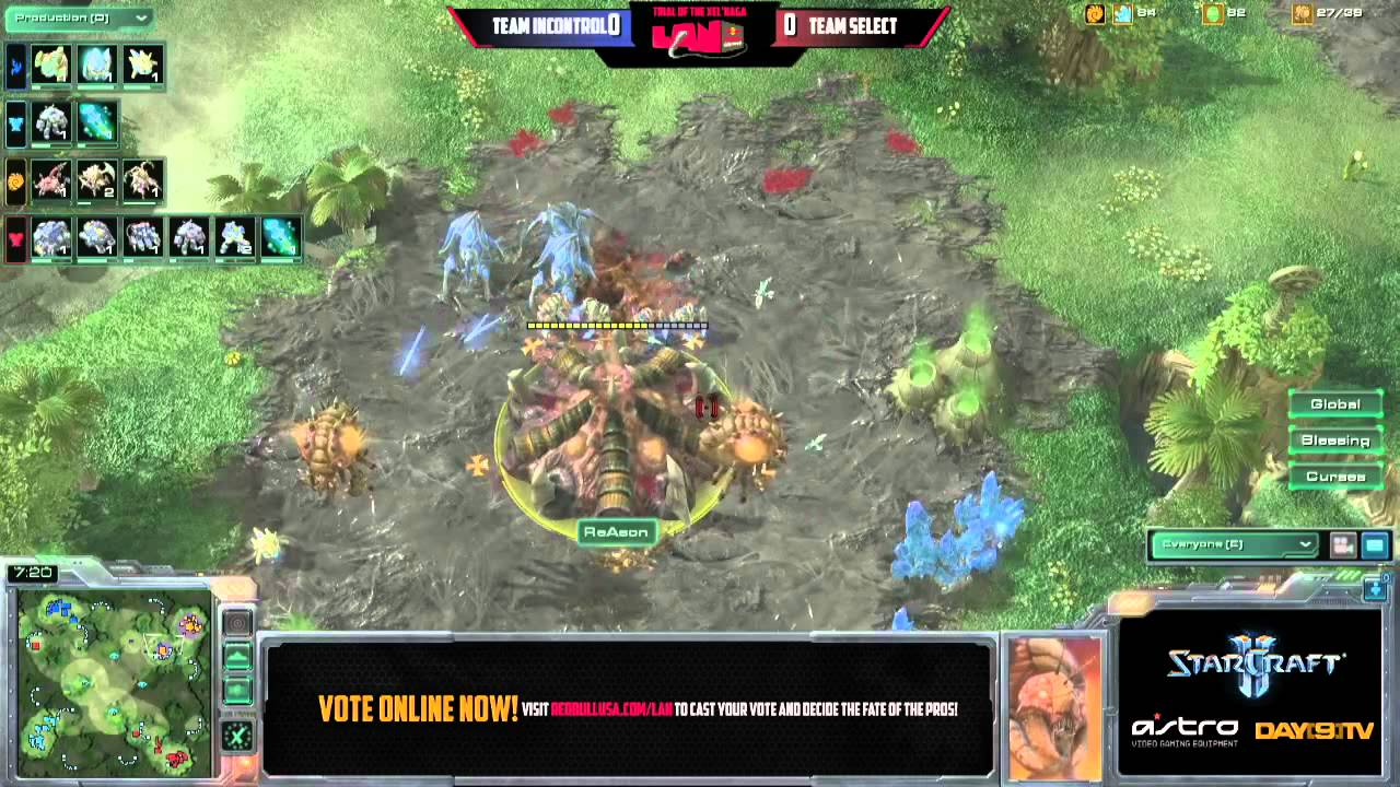 Team iNcontrol vs Team SeleCT G1 Red Bull Seattle Round of 8 Match C