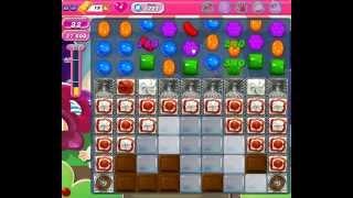 Candy Crush Saga Nivel 1221 completado en español sin boosters (level 1221)