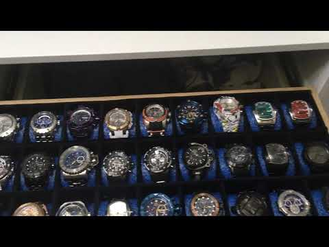 Custom Watch Display Case