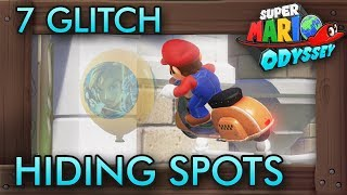 7 Glitch Hiding Spots in Balloon World You Should Avoid   Super Mario Odyssey